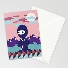 teenja ninja  Stationery Cards