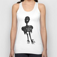 pain Tank Tops featuring Pain by Alain Poncelet