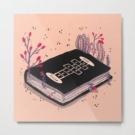 my favorite book Metal Print