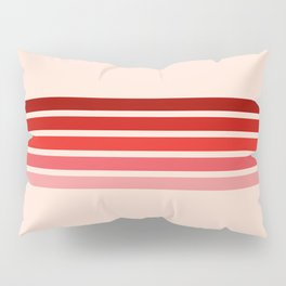 "Red Rainbow ""Love"" Pillow Sham"