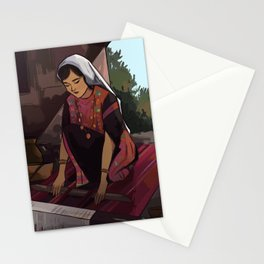Weaving Stationery Cards