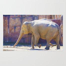 Elephant, Elefant Rug