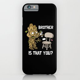 Tree and chair brother alive iPhone Case