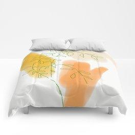 Mama's Mandarine Tree Comforters