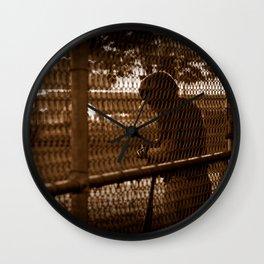Batter on Deck Wall Clock