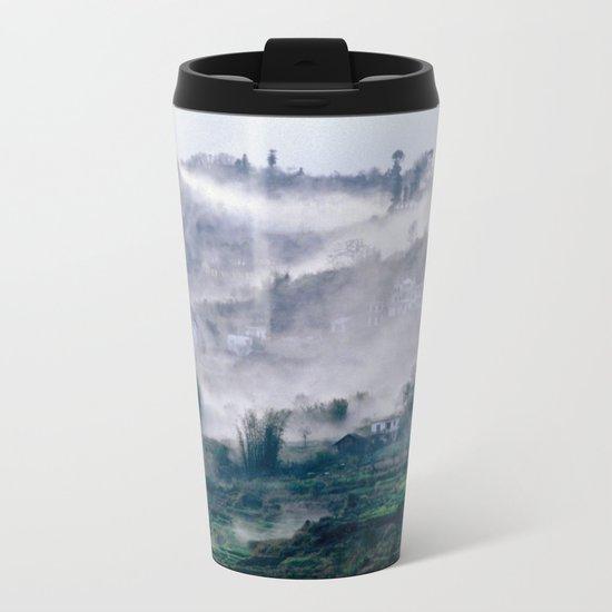 Foggy Mountain of Vietnam Metal Travel Mug