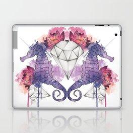 Seahorse Meltdown - Purple/Pink Laptop & iPad Skin