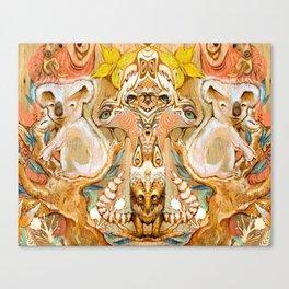 Koala Tamer Canvas Print
