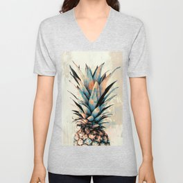 PINEAPPLE 3 Unisex V-Neck
