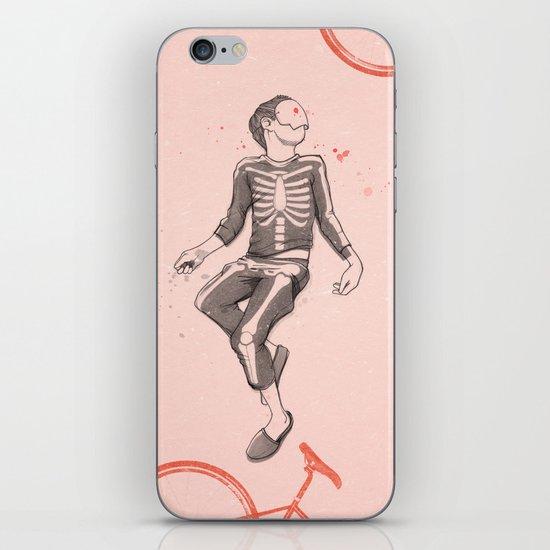 """Dude, wake up..."" iPhone Skin"