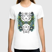 tigers T-shirts featuring Tigers #3 by Ornaart