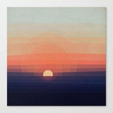 Colors Sunset Canvas Print