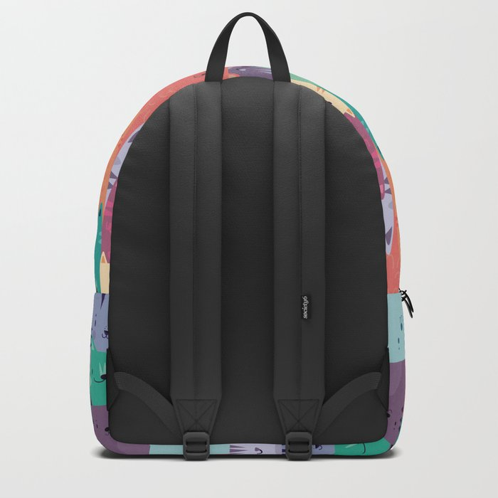 Pastel Cats Backpack