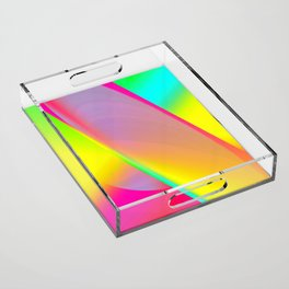 Rainbow series I Acrylic Tray