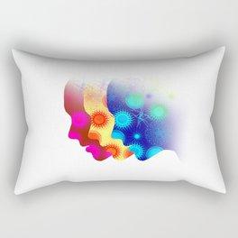 Look ahead Rectangular Pillow