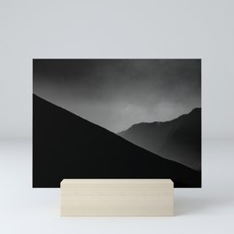 saling silang Mini Art Print