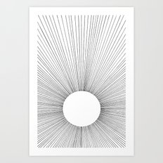 THE BRIGHT VOID Art Print