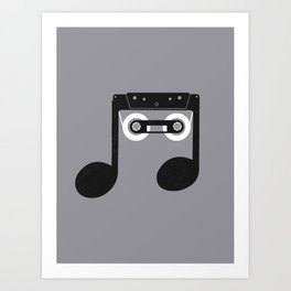 Analog Music Art Print