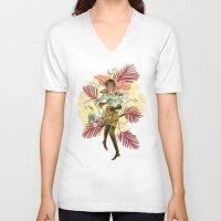 berserk V-neck T-shirts featuring Casca by Kerederek