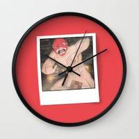 flash Wall Clocks featuring Flash. by KODYMASON