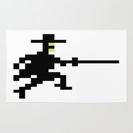 Zorro Pixel Art Rug
