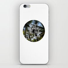 I've Got Paradise In The Palm Of My Hand iPhone & iPod Skin