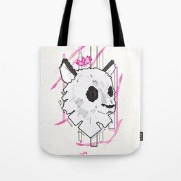 Queen Panda Tote Bag