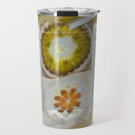 Heronbill Content Flower  ID:16165-155700-92131 Travel Mug