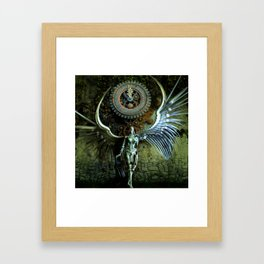 The Last Shadow Of The Time Framed Art Print