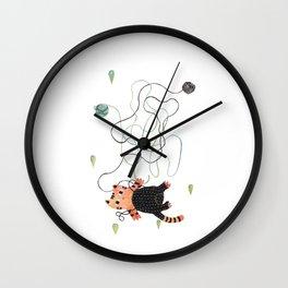 Playing Wall Clock