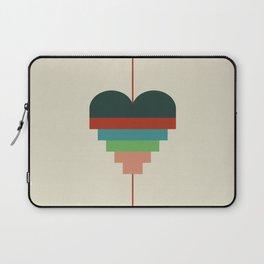 heart geometry Laptop Sleeve