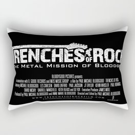 Trenches of Rock: Official Movie Poster / Art / Mugs / Phone Cases, etc. Rectangular Pillow