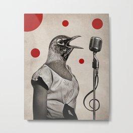 Anthropomorphic N°11 Metal Print