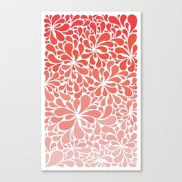 Simple Paisley Canvas Print