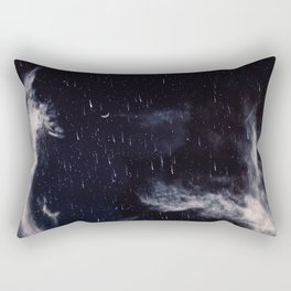 Falling stars II Rectangular Pillow