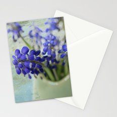 Grape Hyacinths Stationery Cards