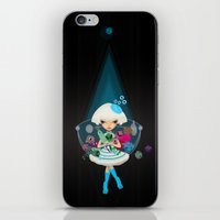 monster hunter iPhone & iPod Skins featuring hunter by Anne  Martwijit