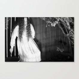Screaming Chelsey Canvas Print