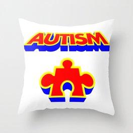 Autism Throw Pillow
