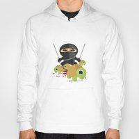 ninja turtles Hoodies featuring Ninja Turtles by Adamzworld