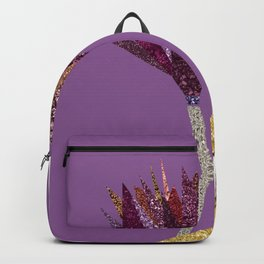 Purple Flower (lilac) Backpack