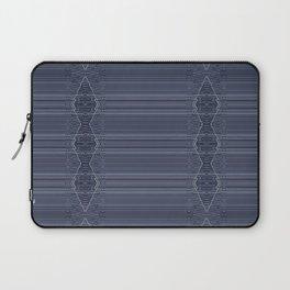 Rich Indigo Blue Diamond Design Laptop Sleeve