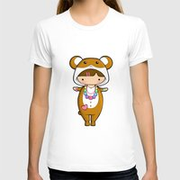 hamster T-shirts featuring Kigurumi Hamster by Joanna Zhou