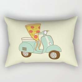 pizza delivery Rectangular Pillow