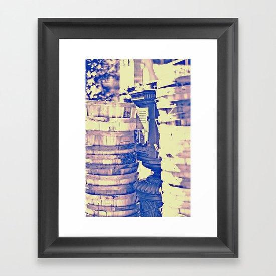 Baskets, Baskets Framed Art Print