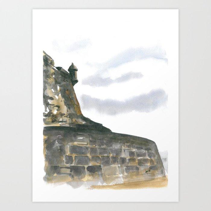 Punta del Morro Art Print
