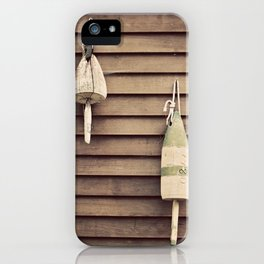 Lobster Buoys iPhone Case