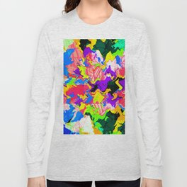 Abstract Colors 2 - Yellow Long Sleeve T-shirt