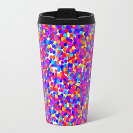 Colorful Dots Mayhem Travel Mug
