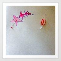 Stars and Candy xo Art Print